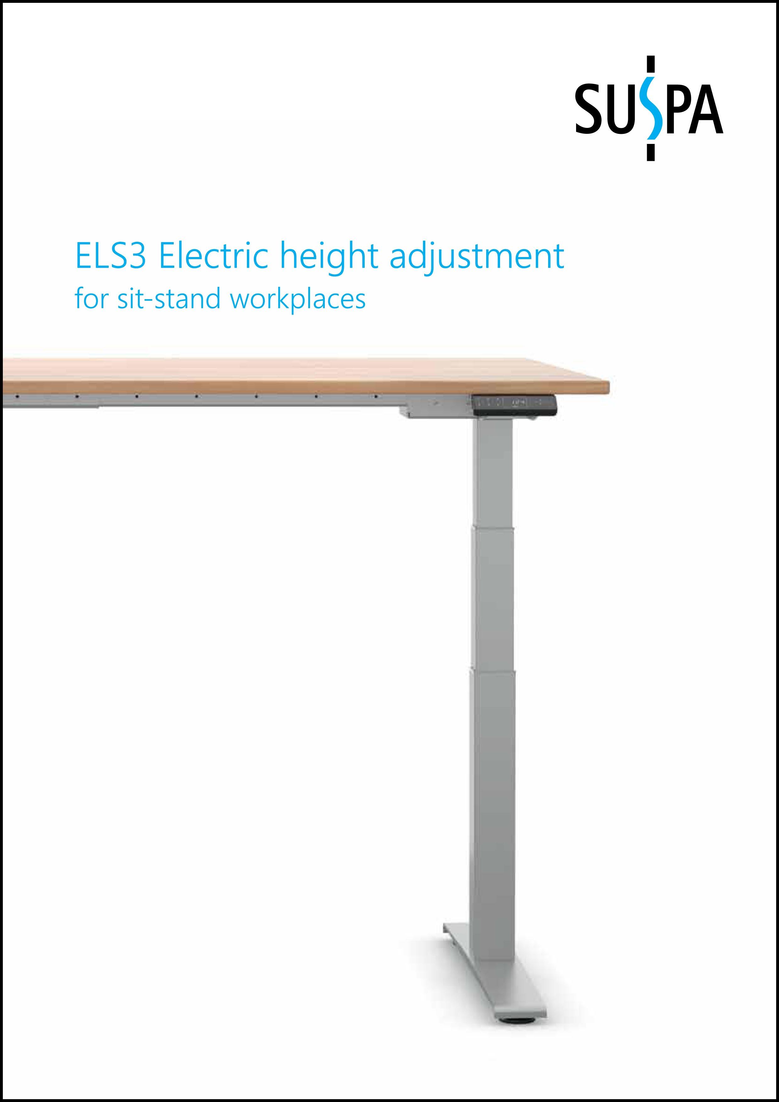 Suspa ELS-Elektromos magasságállító rendszer