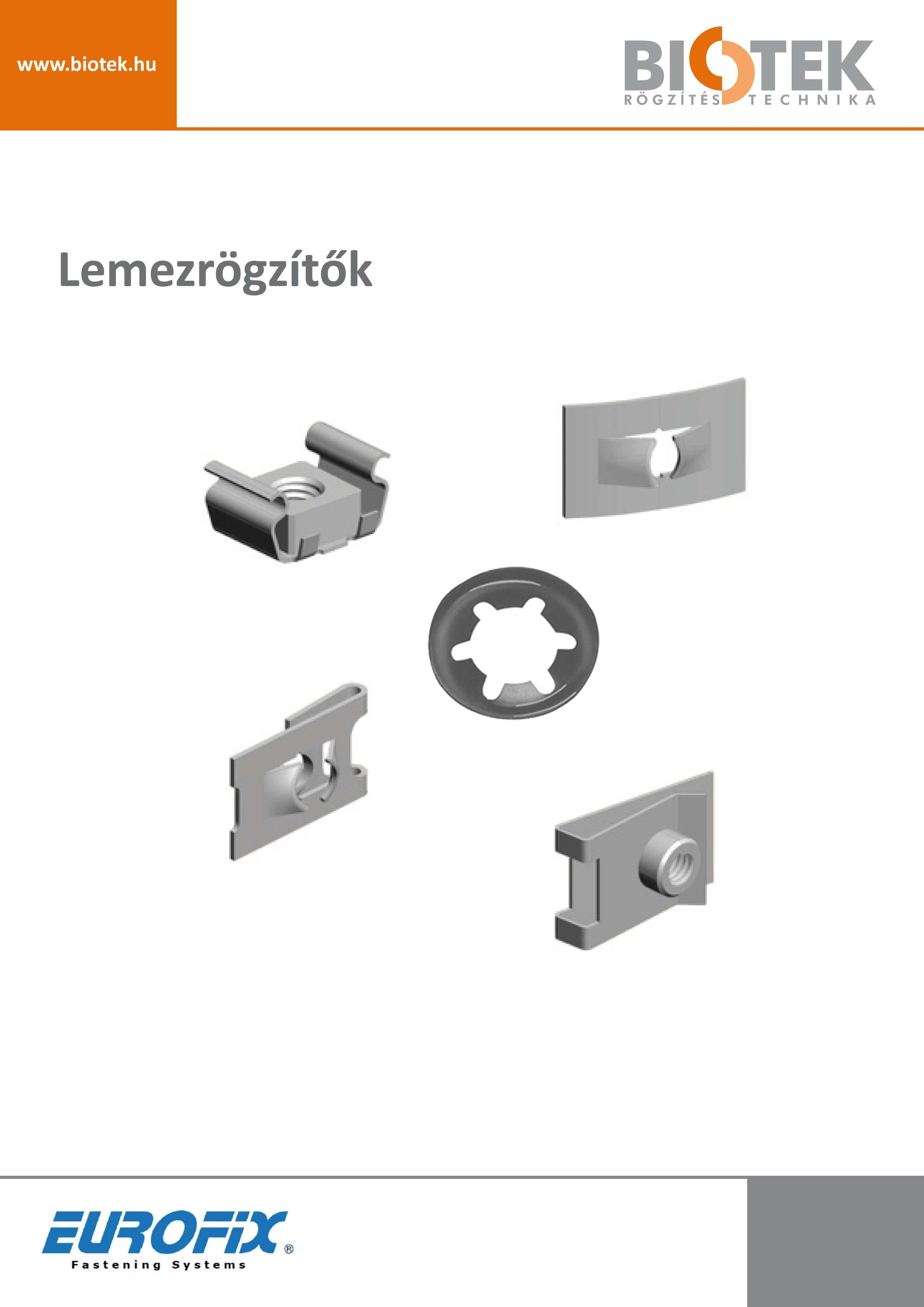 Eurofix - lemezrögzítők