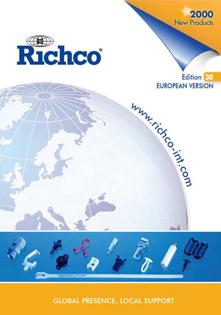 Richco - műanyag rögzítőelemek